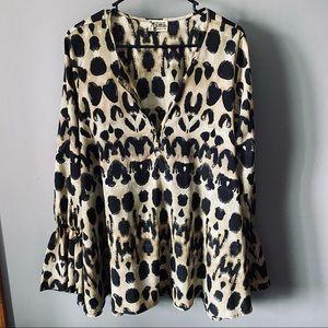 Show Me Your Mumu Pebbles printed boho blouse